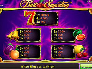 Fruit-Sensation